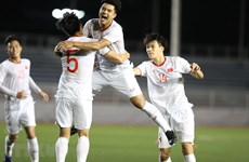SEA Games 30: Vietnam beat Singapore 1-0, remain atop Group B