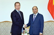 PM welcomes Director of Russia's National Guard