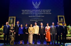 Thailand's National Day observed in Hanoi