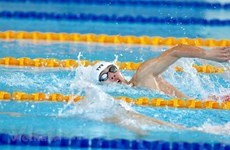 SEA Games 30: Swimmer Hoang sets new record in 400-m freestyle