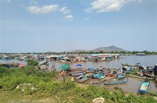 Vietnam assists relocated Vietnamese Cambodians at Tonle Sap
