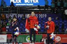 SEA Games 30: Vietnam stays at second place on December 5