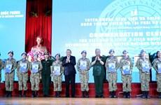 Vietnam peacekeeping force honoured