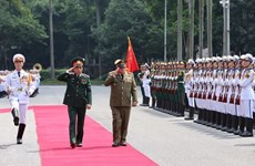 Cuban Revolutionary Armed Forces' anniversary marked in Hanoi