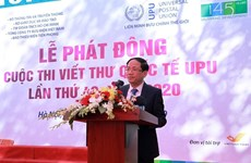 Vietnam launches 49th UPU letter-writing contest