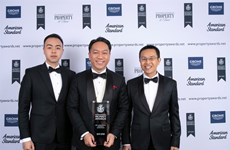 SonKim Land scoops award