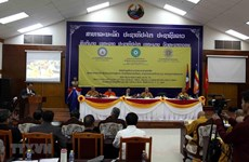 Symposium talks Vietnamese Buddhism in Laos