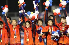 PM congratulates women's football team on SEA Games success
