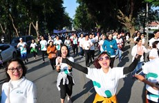 People run to donate for disadvantaged children