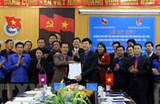 Thanh Hoa, Lao province promote youth cooperation
