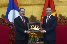 Lao National Assembly delegation visits Da Nang