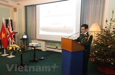 Founding anniversary of Vietnam People's Army held in UK