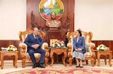 Deputy PM Truong Hoa Binh visits Laos