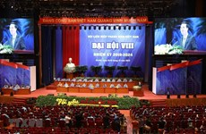 Vietnam Youth Federation's eighth national congress opens