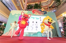 Children's beloved cartoon charactors to perform in VN