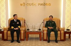 General Staff Chief meets Japan Maritime Self-Defence Force Commander