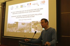 Workshop provides guidance for identifying plastic pollution hotspots