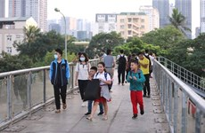 Hanoi to build ten pedestrian bridges