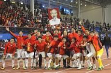 U22 football team get sizeable cash bonus after historic win