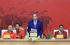 PM praises success of men's and women's football teams at SEA Games