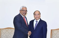 Prime Minister hosts Cuban Minister of Justice