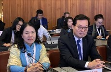 Vietnamese Ambassador delivers speech at int'l Red Cross conference