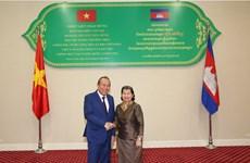 Deputy PM Truong Hoa Binh visits Cambodia