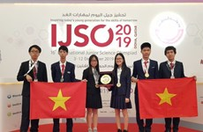 Vietnamese students win three golds, three silvers at IJSO
