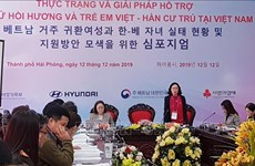 Workshop seeks to support women in Vietnamese-Korean marriage breakups