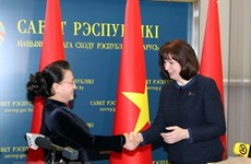 Vietnamese, Belarusian parliaments pledge support for stronger ties