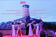 75th anniversary of Vietnam's People Army marked in Laos