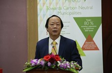 Finland helps Vietnam build carbon neutral municipalities
