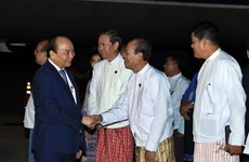 Prime Minister begins official visit to Myanmar