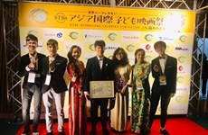 Hanoi students honoured at Asian International Children's Film Festival