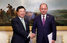 Vietnam boosts bilateral, multilateral ties on ASEMFMM14 sidelines