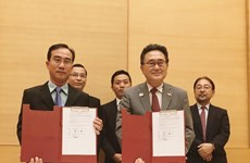Japan provides aid to five projects in Vietnam