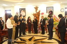 Officials pay pre-Christmas visits to localities