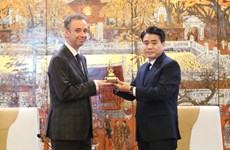 Hanoi steps up cooperation with Ireland's localities