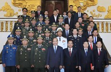 PM welcomes Cambodian, Lao defence ministers