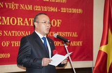 Founding anniversary of Vietnam People's Army marked in many countries