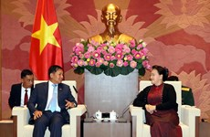 Top legislator hosts Commander-in-Chief of Myanmar Defence Services