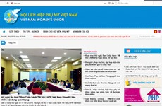 Vietnam Women's Union launches web portal