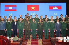 Vietnamese, Lao, Cambodian defence officials, units honoured