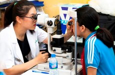 Binh Dinh: Eye care development project proves fruitful