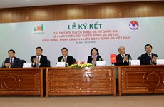 Hung Thinh Land to sponsor Vietnam's women's football for next five years