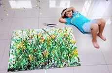 Young Vietnamese painter set sales records in US