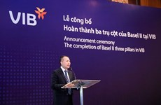 VIB becomes first local bank to complete Basel II three pillars
