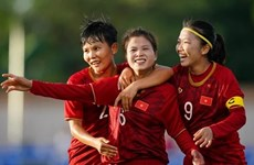 Vietnamese women's team prepare for Olympics qualifiers