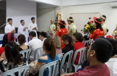 Vietnamese Christians in Malaysia celebrate Christmas