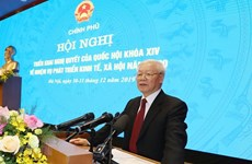 Top leader calls for stronger efforts for better achievements in 2020